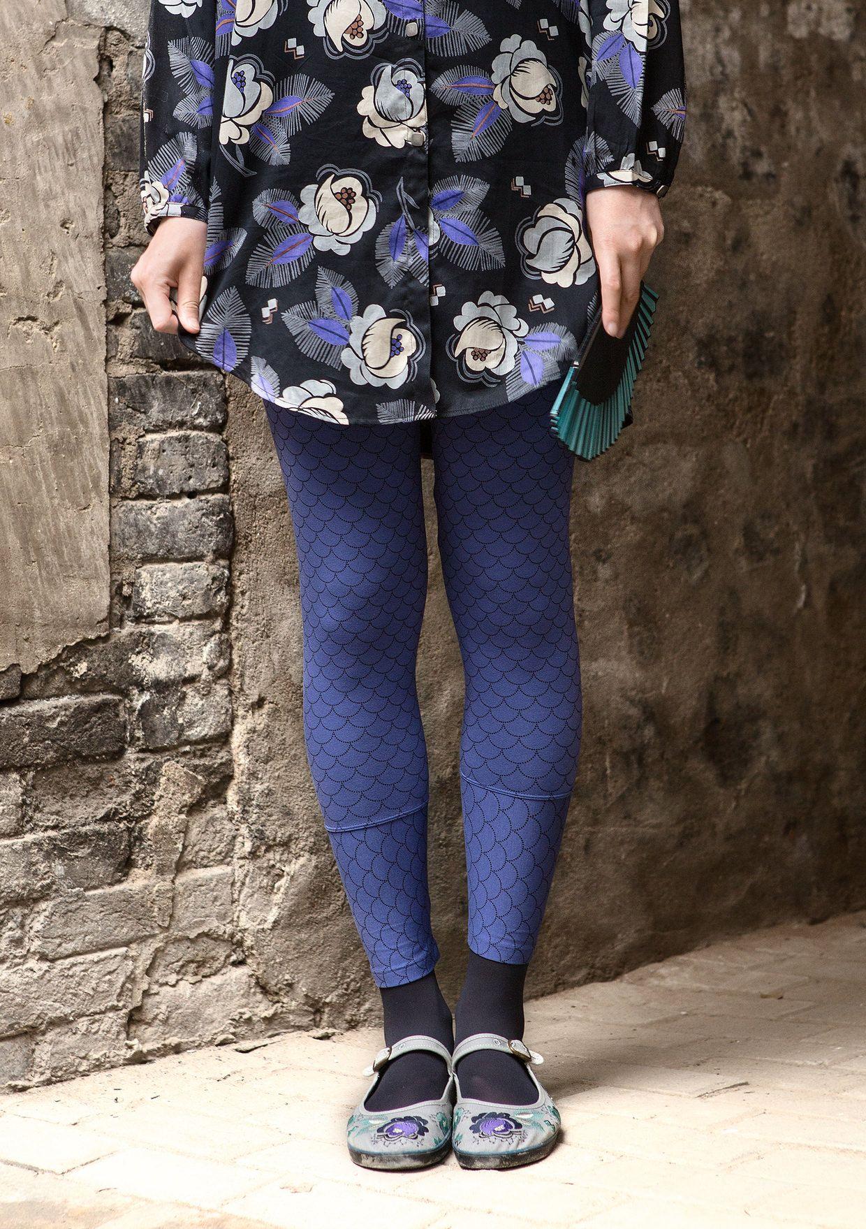 """Leggingsit """"Hui"""" modaalia/elastaania – Hongkong – GUDRUN SJÖDÉN - vaatteita verkossa ja postimyynnissä"""