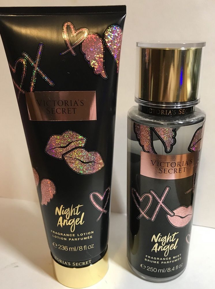 60dd117019 Victoria s Secret Night Angel Fragrance Mist 8.4 oz Body Mist and Lotion 8  oz  VictoriasSecret