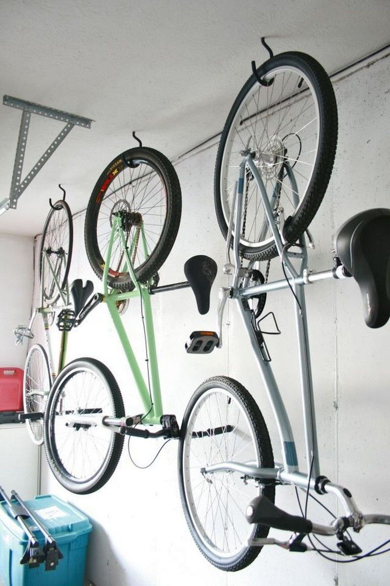 89 marvelous ideas to make hanging bike rack and storage