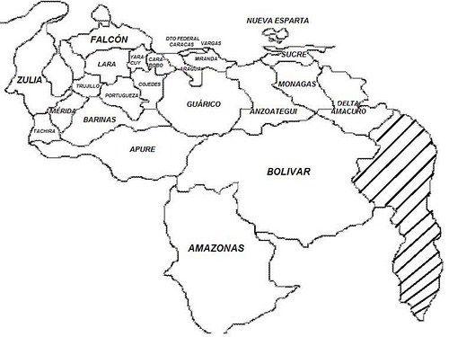 Mapa Del Mundo Para Dibujar: Dibujos Del Mapa De Venezuela Para Colorear: Imágenes Del