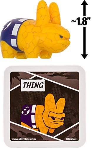 KIDROBOT MINI MARVEL LABBITS SERIES 2 HULK AVENGERS DESIGNER TOY ART