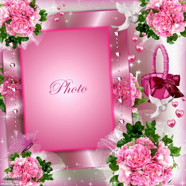 Pink Frame Gloria Glv Prplkises Imikimi Bags