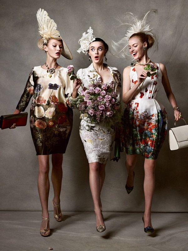 Racy Ladies by Kristian Schuller (Tatler UK May 2011)