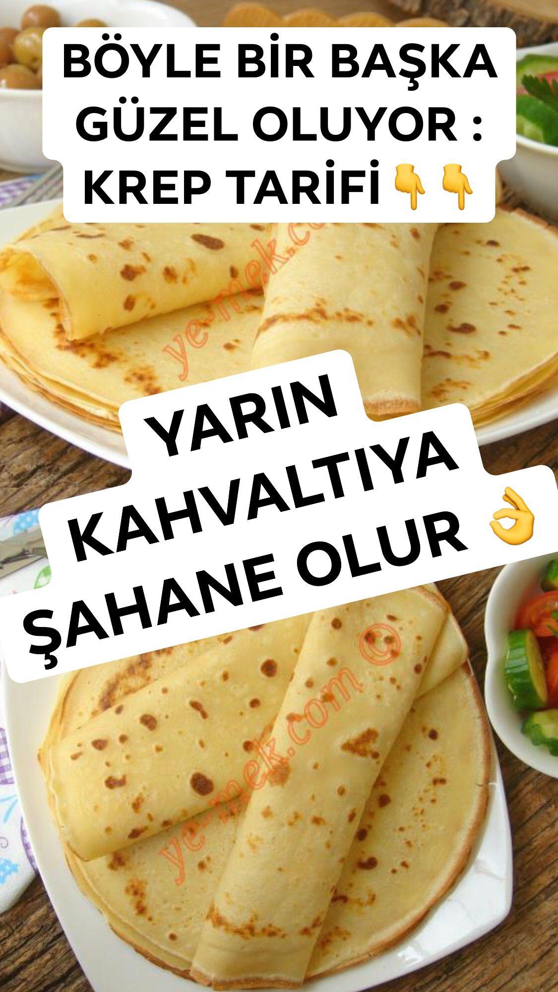 Krep Nasıl Yapılır 20/202   Resimli Yemek Tarifleri   Yemek ...