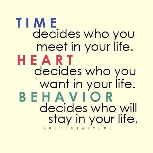 Time, Heart, Behavior