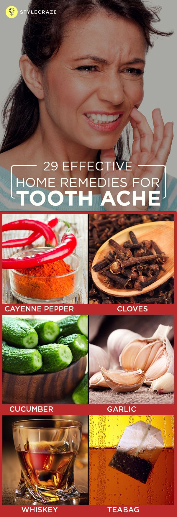 18 Effective Home Remedies For Toothache