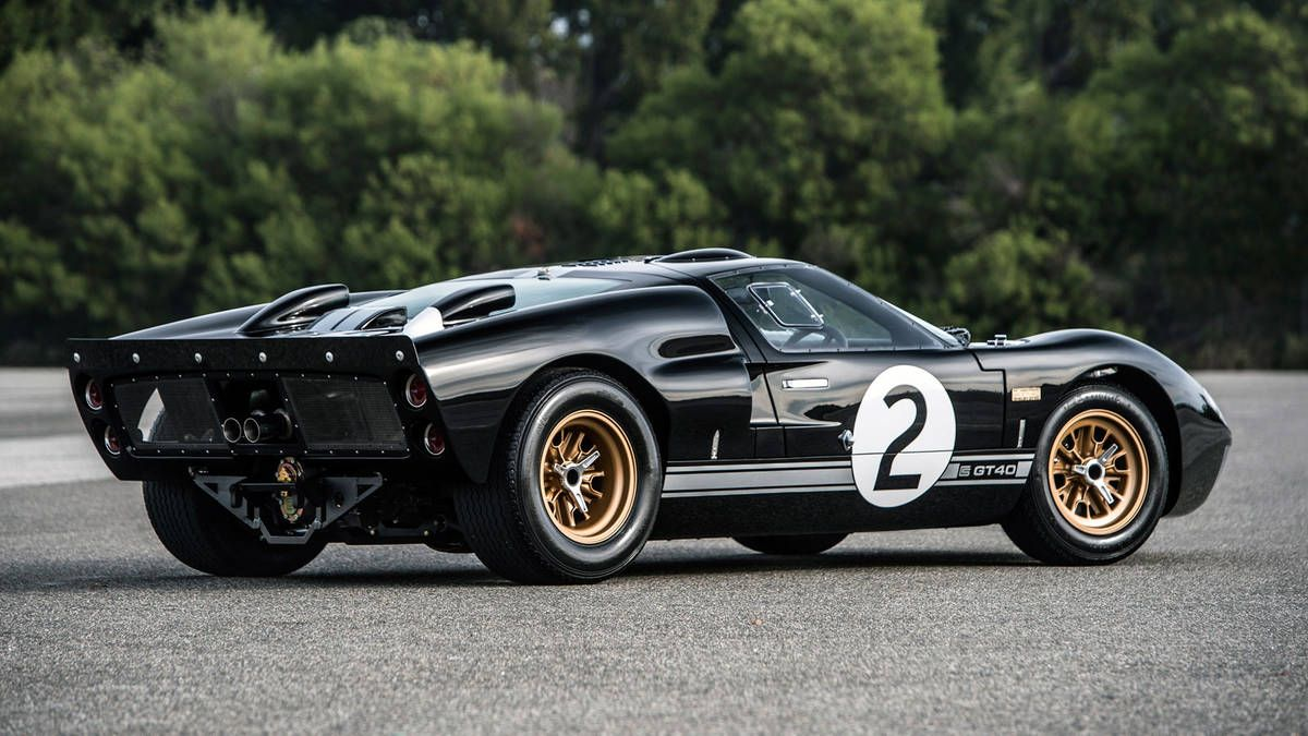 Shelby Is Selling New Gt40s Just In Time For Le Mans Ford Gt40