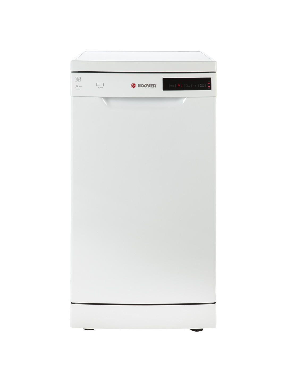 Hoover HDP2D1049W Freestanding Slimline Dishwasher, White