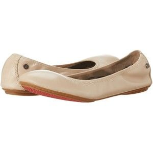 Hush Puppies Chaste Ballet (Nude Leather) Women's Flat Shoes