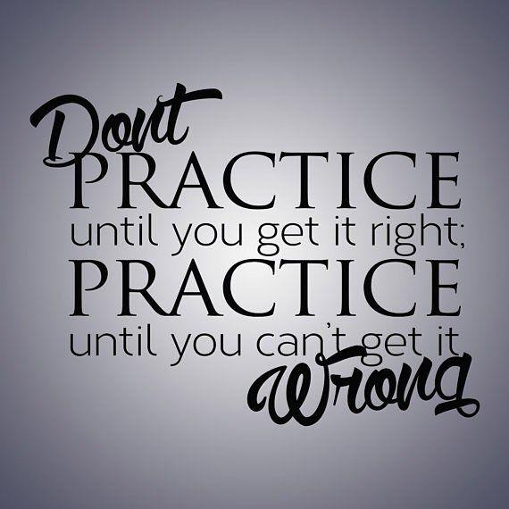 Practice / #inspiration #inspirational #inspirationalquote #motivation #motivational #motivationalquote #qotd #quote #quoteoftheday by connorplaysinstruments