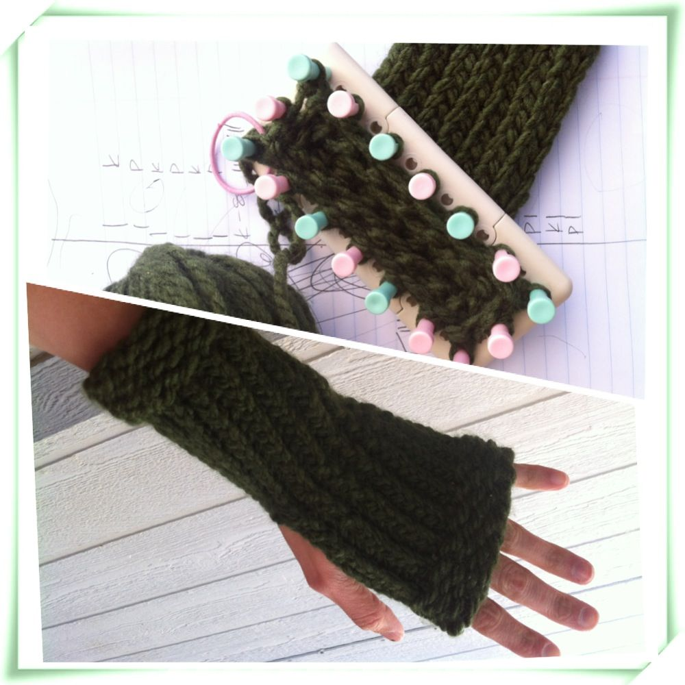 Figure out how to do this on a loom. | Knitting | Pinterest | Telar ...