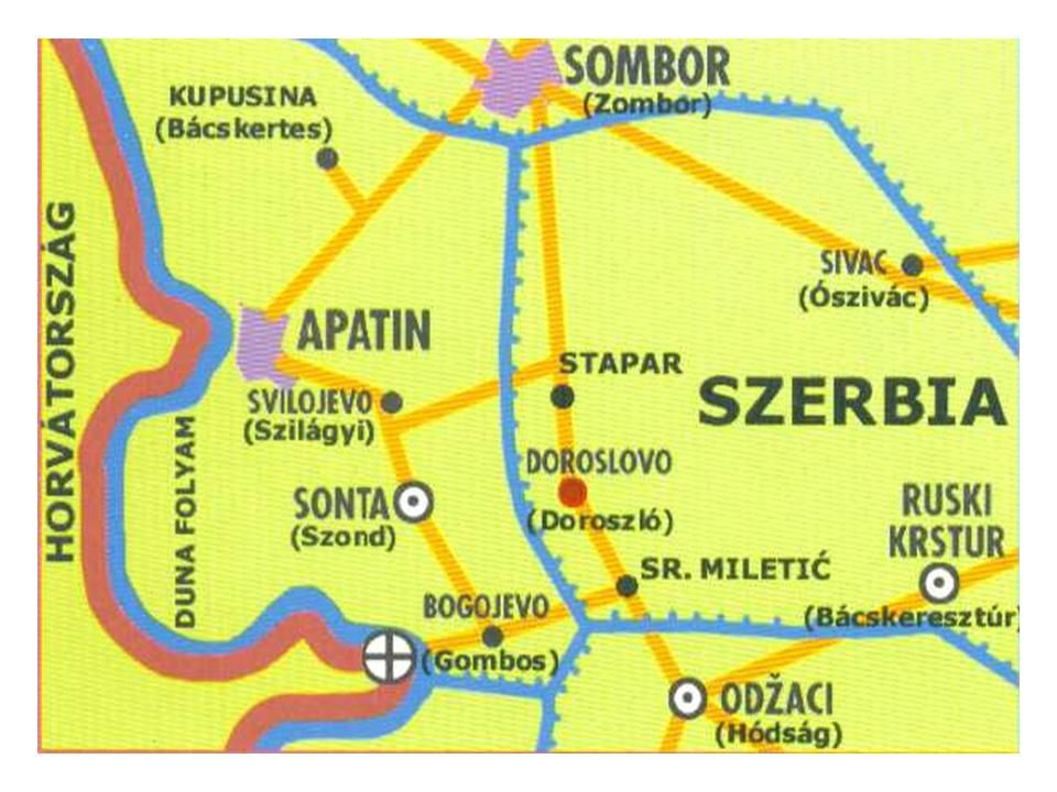 elvira térkép Térkép | DOROSZLÓ Doroslovo, Serbia, Vojvodina | Pinterest elvira térkép