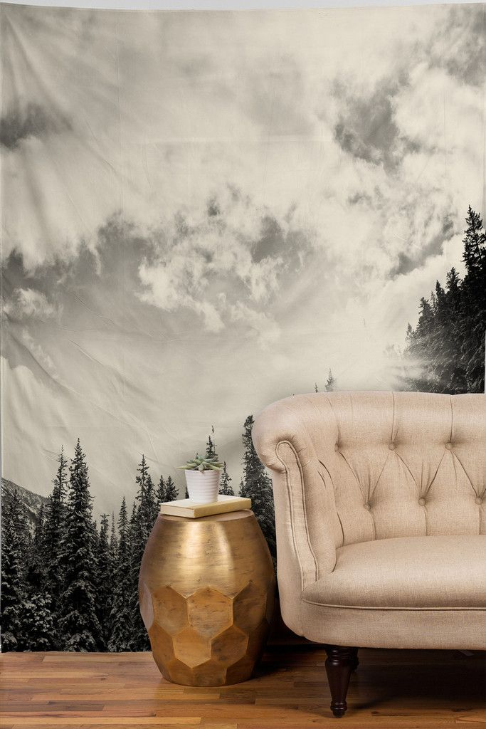 may your mountains always be white #tapestry