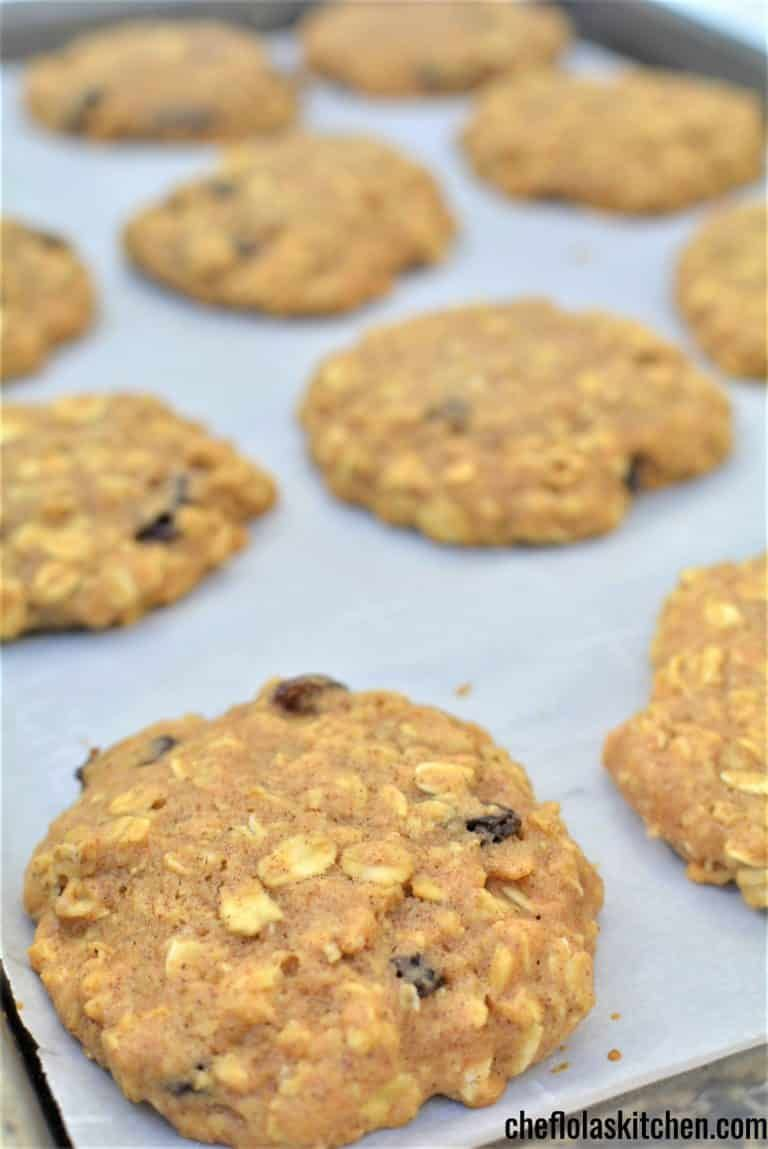 Sugar free Oatmeal Cookies #sugarfreerecipes
