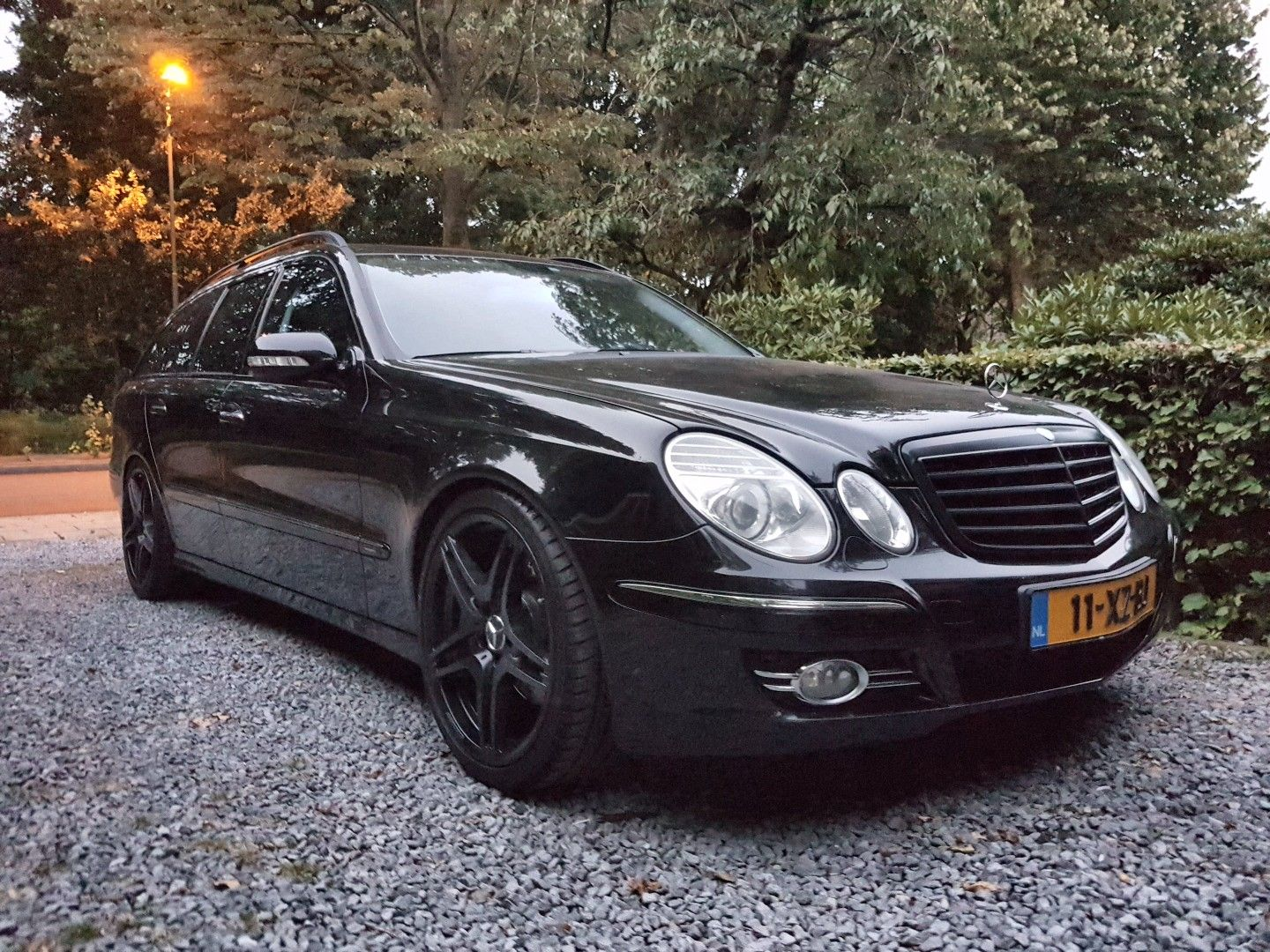 Mercedes Benz W211 Wagon Estate Facelift Lowered Murdered Out