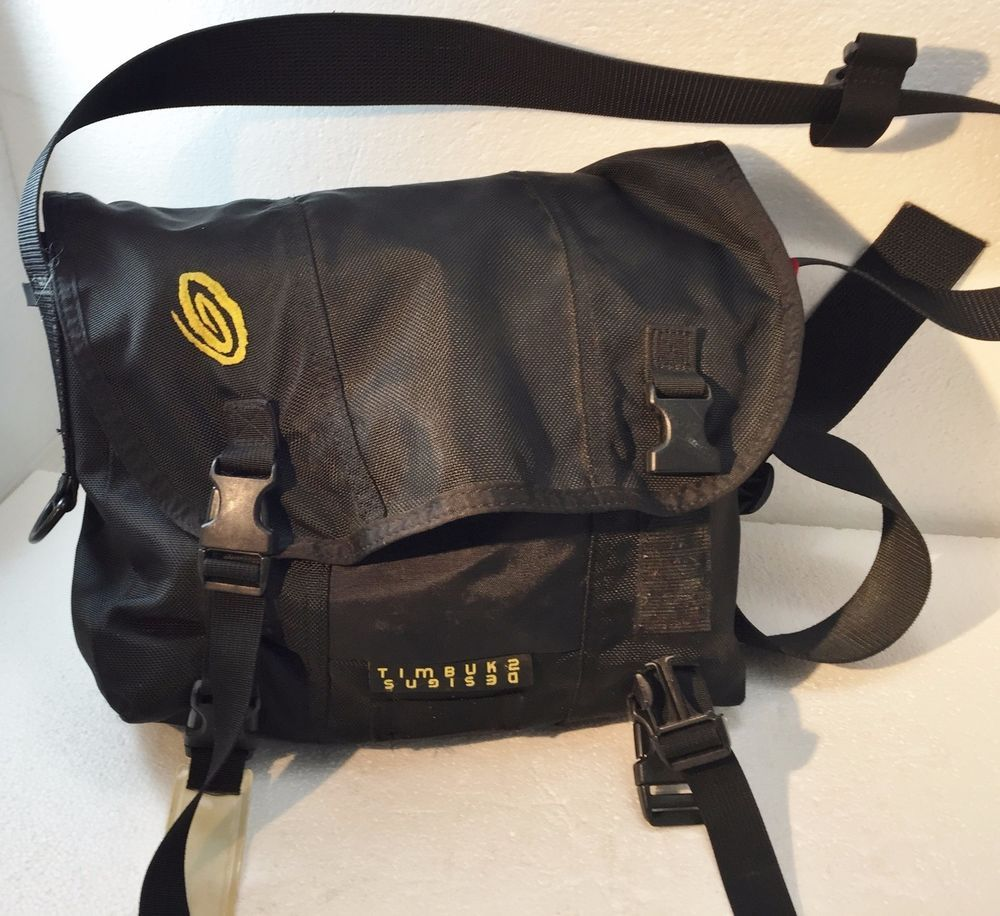Timbuk2 Black Cross Body Shoulder Messenger Bag Usa 11 Hi