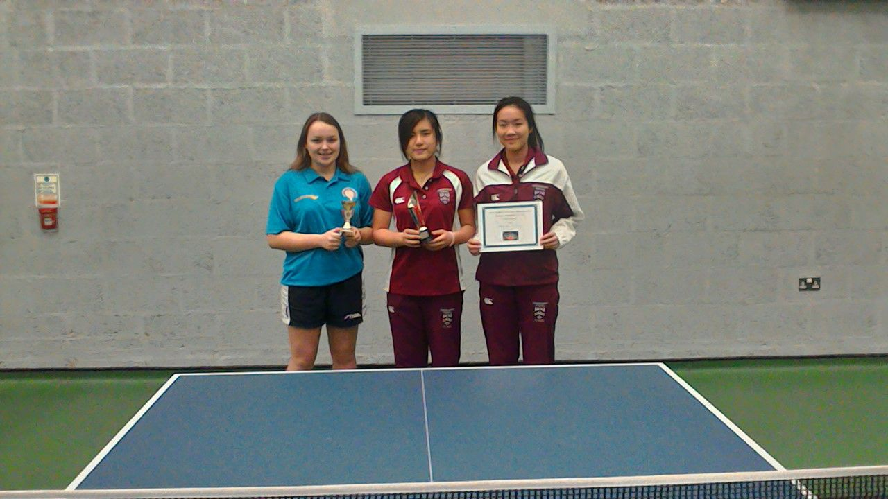 Worcestershire Schools' Table Tennis competition