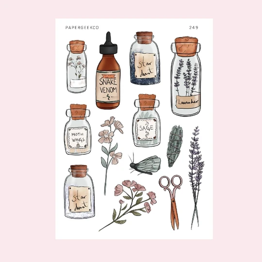 Photo of Magic Potion – Herbs Blend Stickers 249