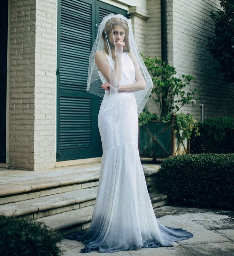 Dipdyed wedding dresses are our new bridal style