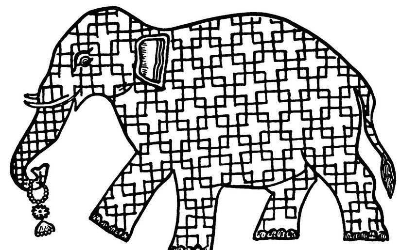 elephant mandal Coloring Pages for Adults | Malvorlagen für ...