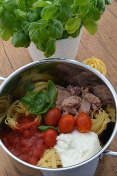 One-Pot-Pasta mit Thunfisch Rezept zum Selbermachen - Familienrezepte zum Selberkochen. #easyonepotmeals