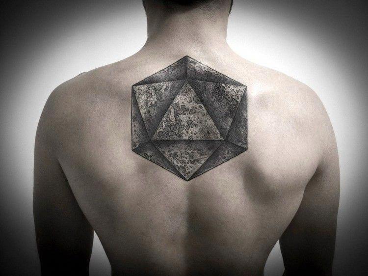 Tatouage Geometrique Homme Dos Tatouages Tattoo Abstract Tattoo