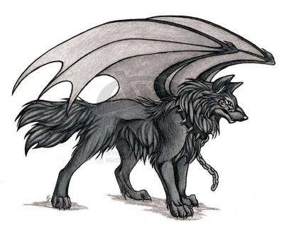 Role Play Anime Wolf Dragon Wolf Wolf Sketch
