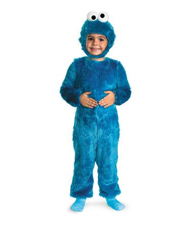 Take a look at this Blue Cookie Monster Faux Fur Dress-Up Set - Toddler d7239db24b51