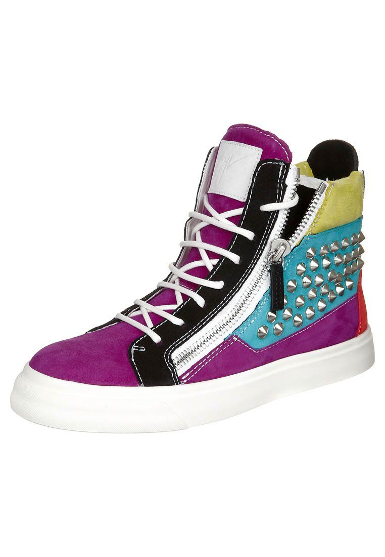 Sneaker high - lets get colorful