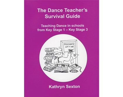 Ref: B26  The Dance Teachers' survival guide book. This down to earth book is written for primary and secondary schoolteachers who are faced with teaching their students dance as part of the national curriculum, but who have no specialist dance training. This book shows them how to do it.The book explains how to structure a lesson, set and develop tasks, and gives specific examples of tried and tested things to say and do to get children moving creatively.