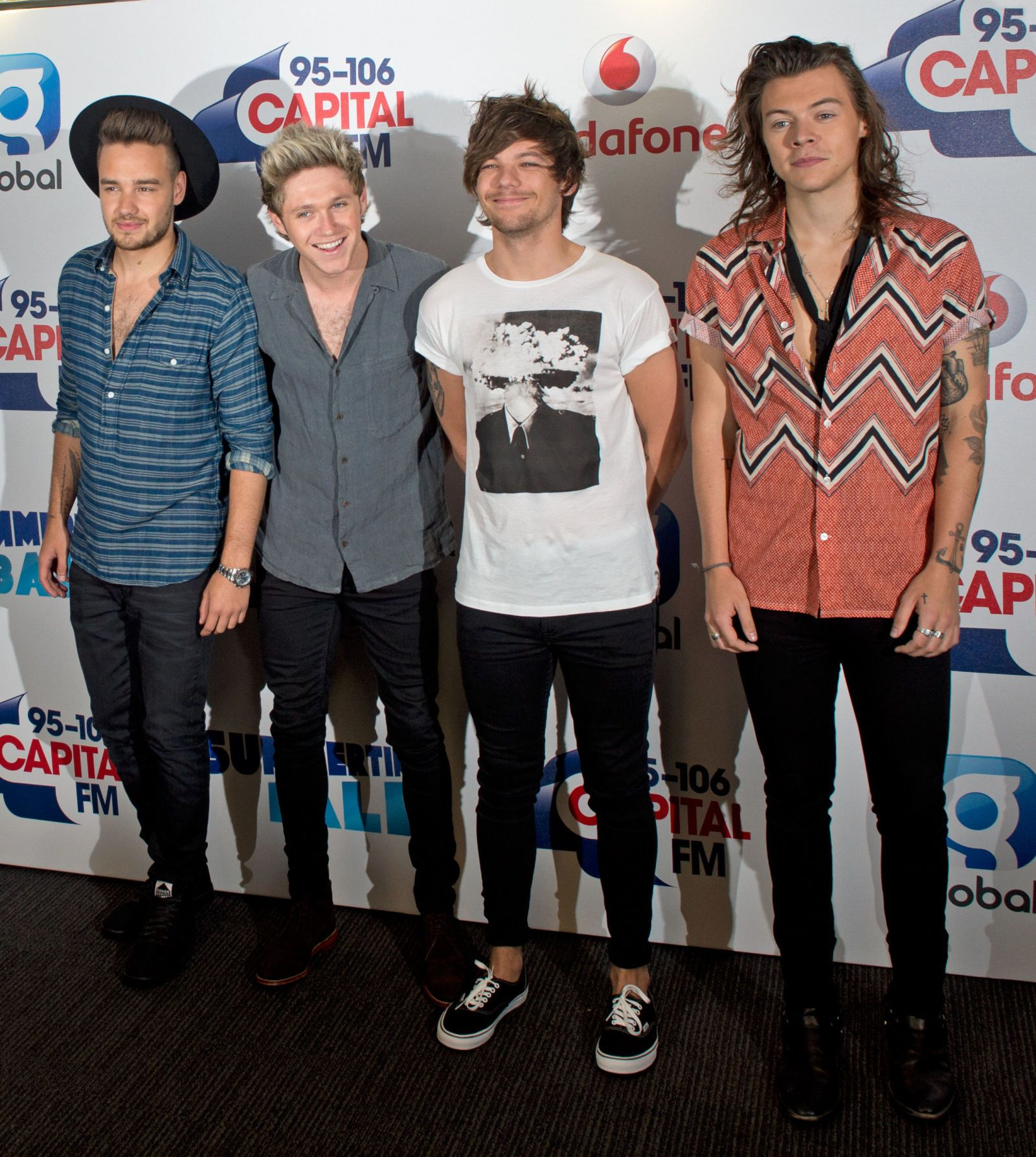 One Direction At Capital Fm S Summertime Ball Sugarscape Com
