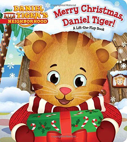 Merry Christmas, Daniel Tiger!: A Lift-the-Flap Book (Daniel Tiger's Neighborhood) by Angela C. Santomero http://www.amazon.com/dp/1481446606/ref=cm_sw_r_pi_dp_lc-pwb1799VEQ