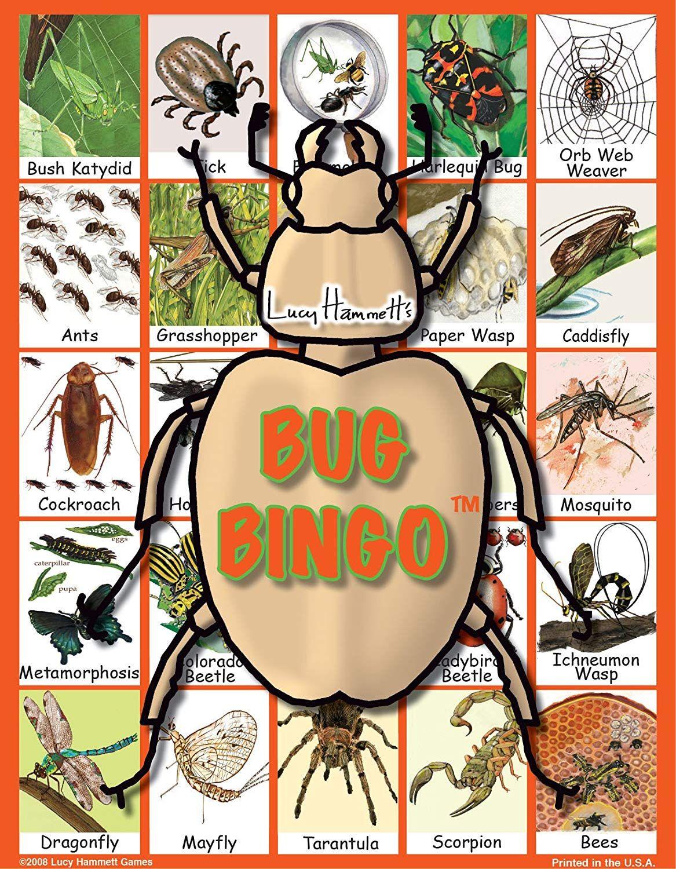 Lucy Hammett Christmas Bingo Board Game