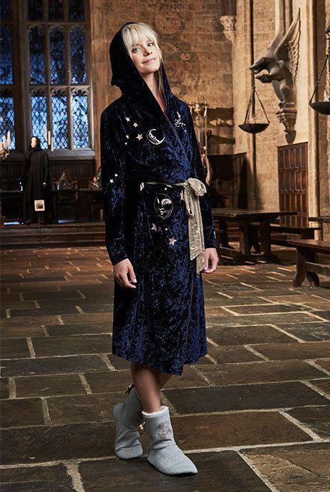 Ladies Harry Potter Bath Robe Dressing Gown Primark Bathrobe