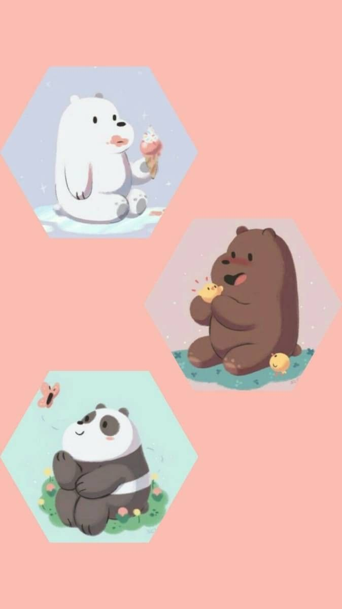 We Bare Bears Wallpaper, characters, games, baby bears epd