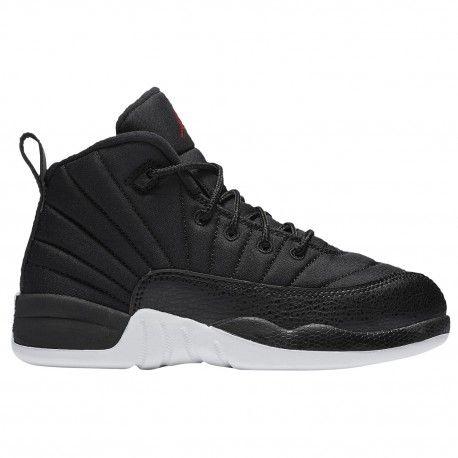 size 40 fd714 e6f3f jordan retro 12 boys,Jordan Retro 12 - Boys  Preschool - Basketball - Shoes  - Black Gym Red White-sku 11186004