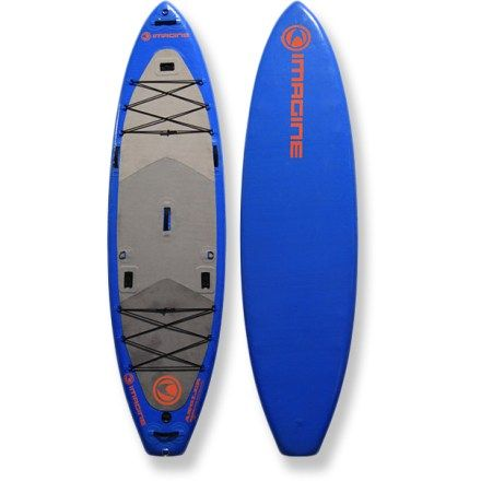 Imagine Surf Compressor Angler Inflatable Stand Up Paddle Board