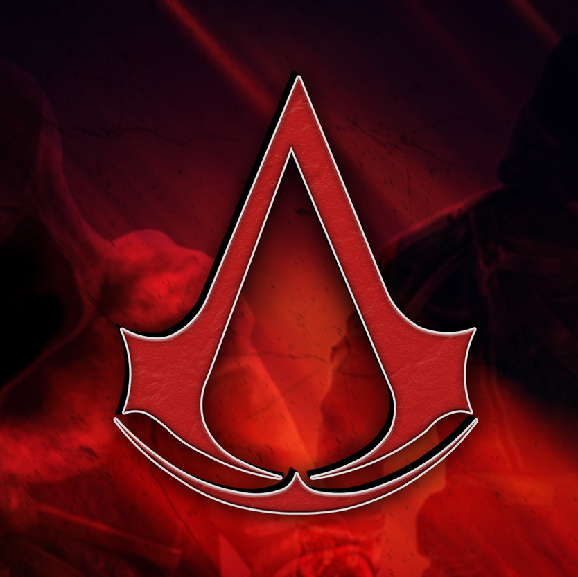 Assassin's creed logo wallpaper in 2020 Assassins creed