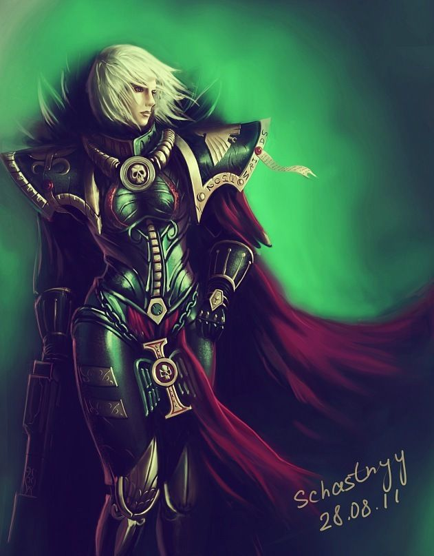 warhammer3 sister of battle by SchastnySergey on DeviantArt