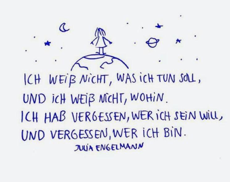 Pin Auf Julia Engelmann Zitate
