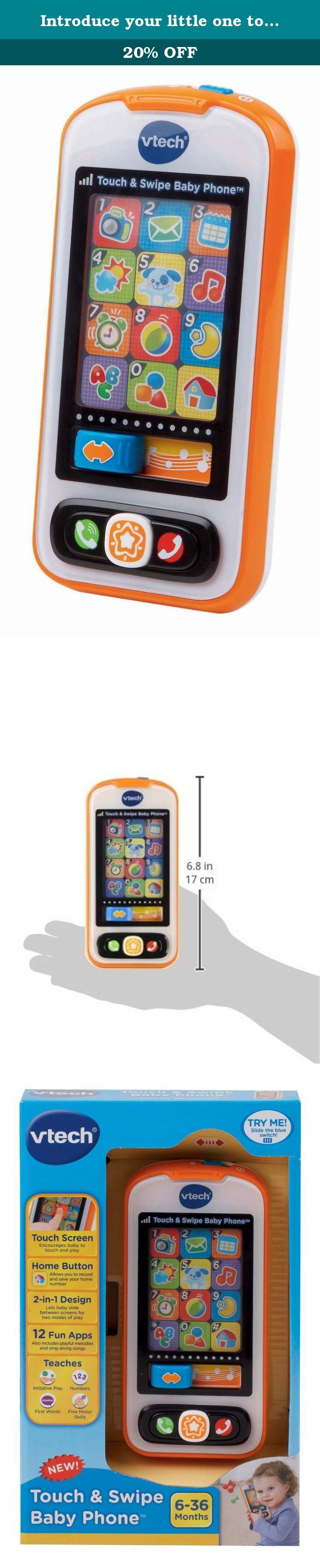 Introduce your little one to the world of smart phones