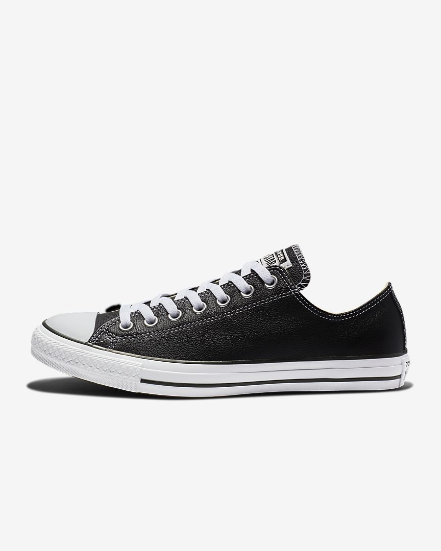 867eb372c99ec4 Converse Chuck Taylor All Star Leather Low Top Unisex Shoe