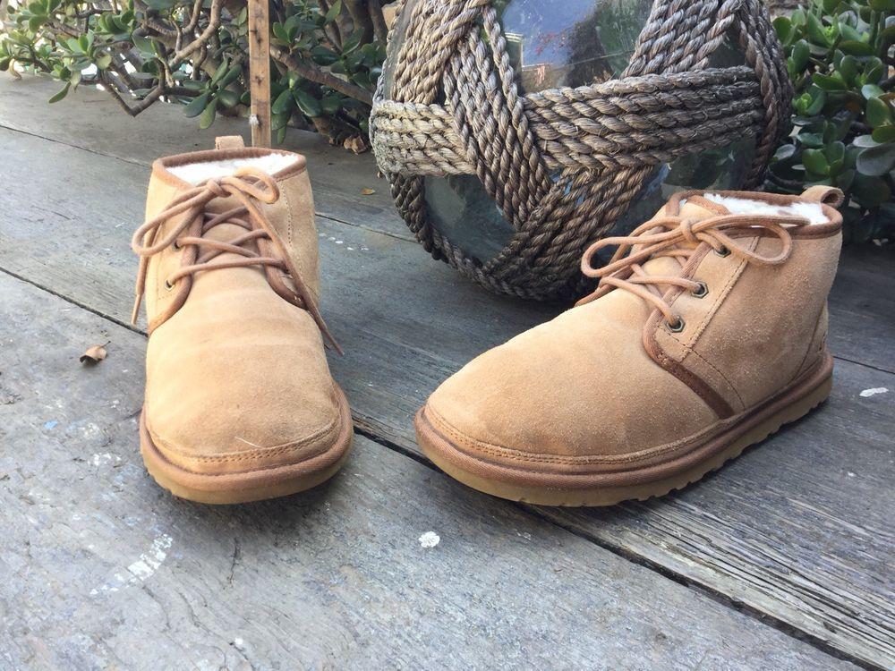 613b61e2a2de8 $130 UGG Australia Neumel Chukka Boot Chesnut Men Size 9 #fashion ...