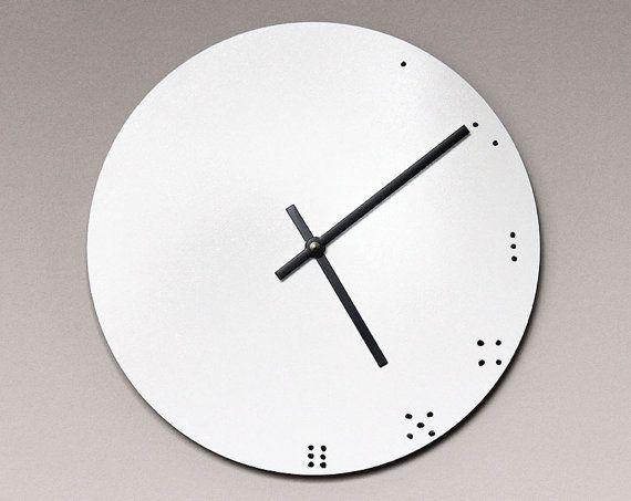 Eletra Dry Erase Circular 10 Inch Wall Clock By Mixedmangos 32 00