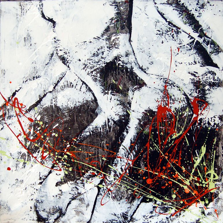 "Saatchi Online Artist: Stephanie Kristofic; Acrylic 2011 Painting ""En corps 7"""