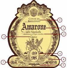 Reading An Italian Wine Label Vintage Wine Label Italian Wine Label Italian Wine