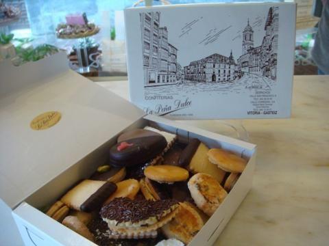 Pastas De La Pena Dulce De Vitoria Gasteiz Recetas De Comida