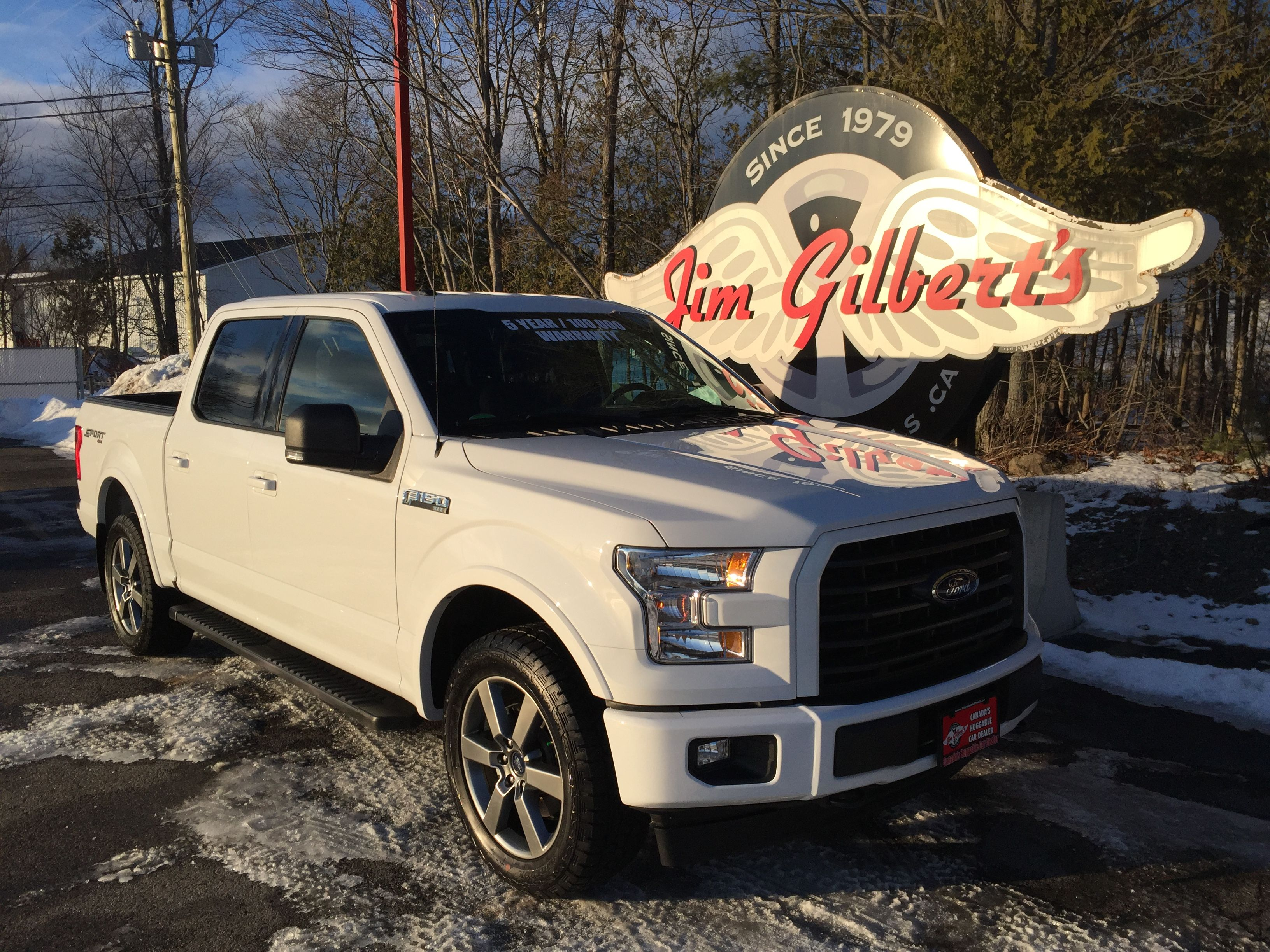2017 Ford F150 Sport Crew Cab 4x4, 302A Package, Heated
