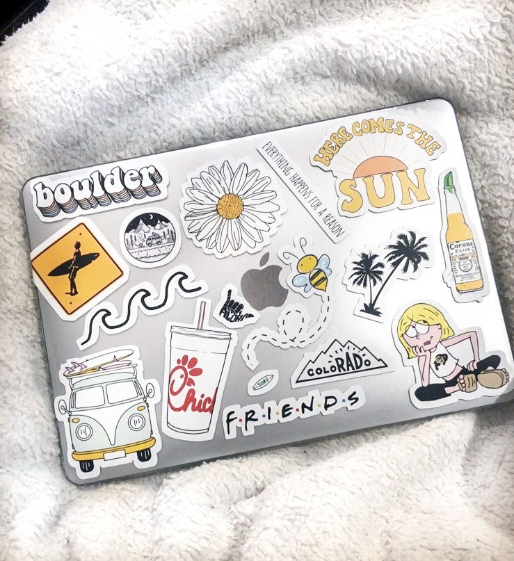 ↠Pinterestkarenmontilla25↞ Pegatina macbook, Pegatinas