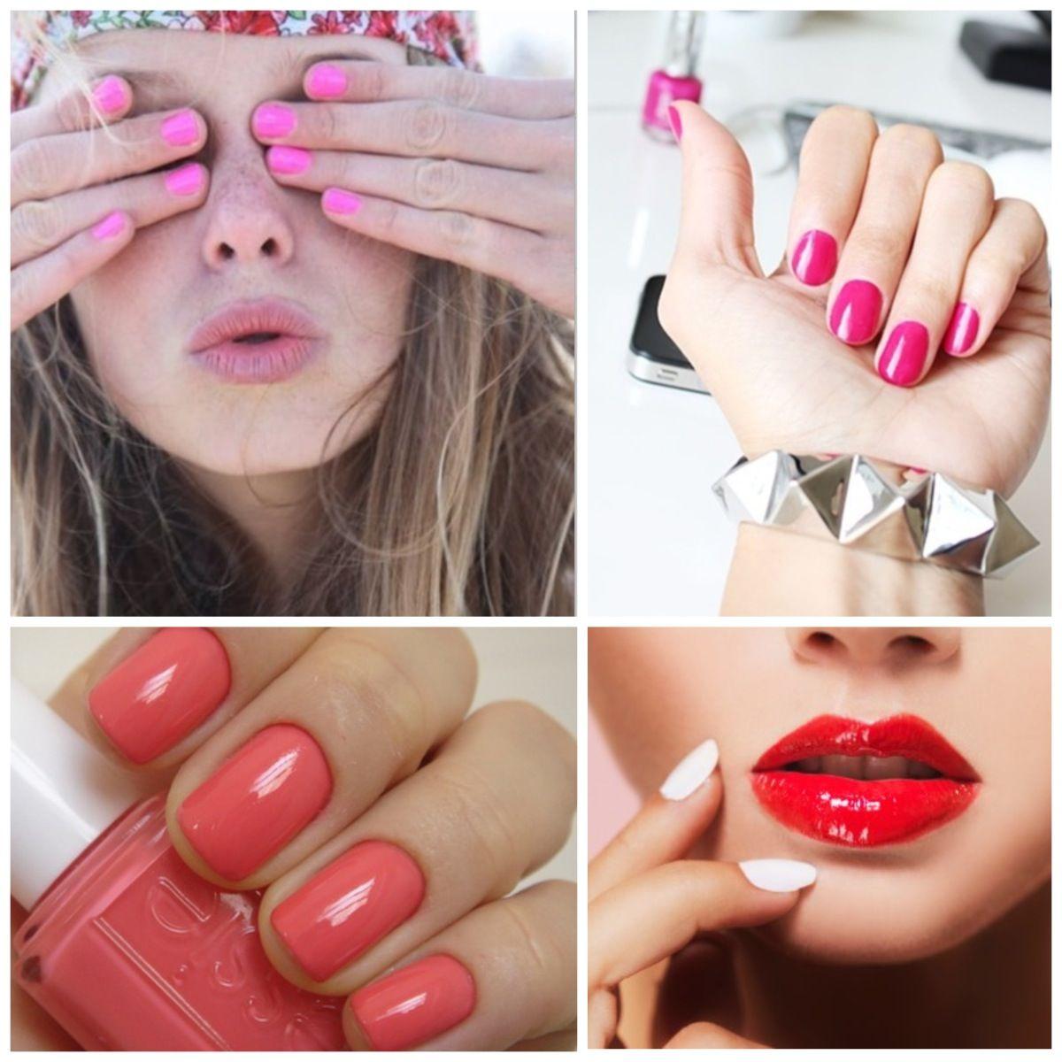 Moda uñas   NAILS   Pinterest   Uñas verano, Colores de esmaltes y ...